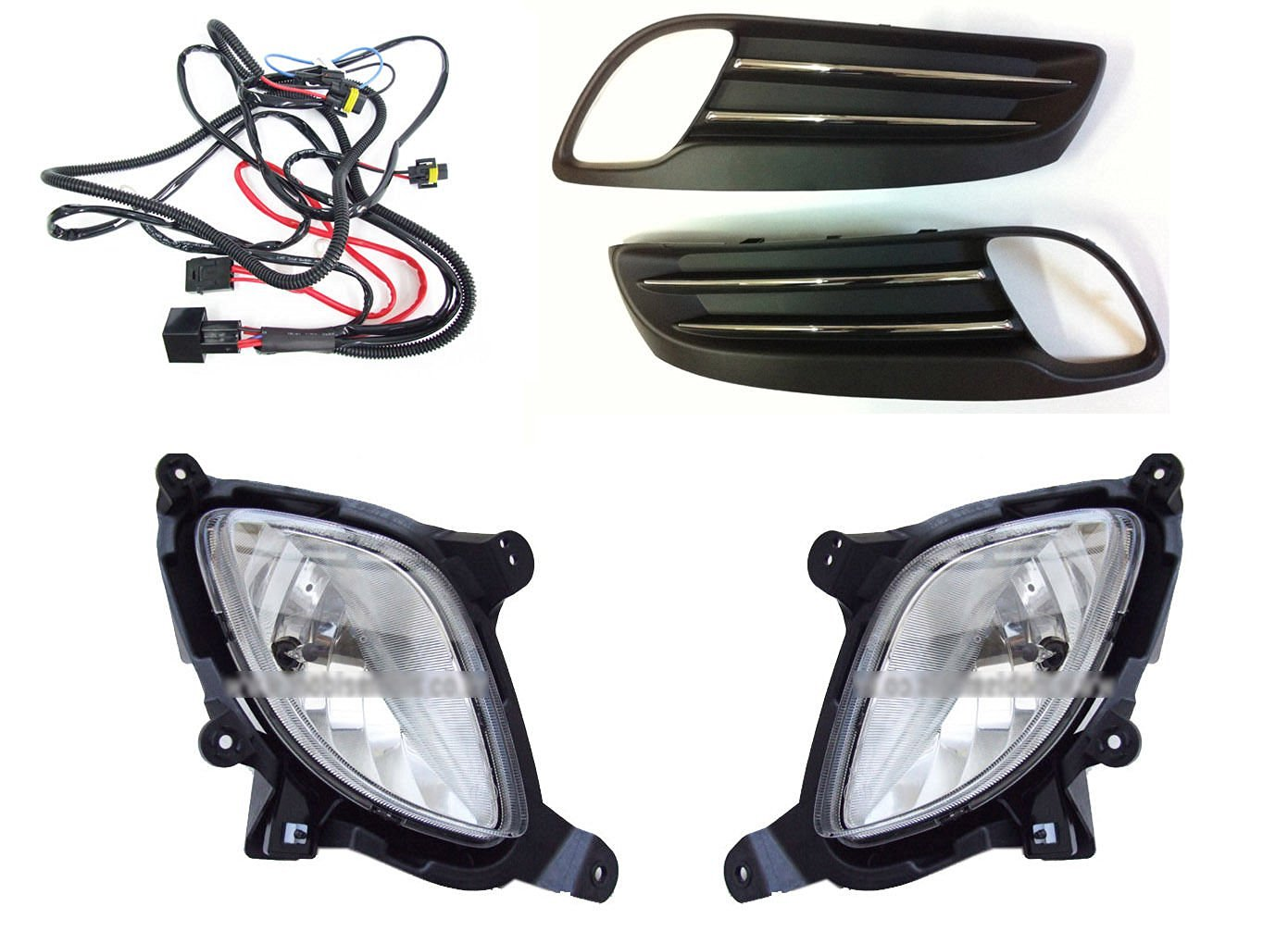 [Sell by Automotiveapple] Hyundai Motors OEM Genuine Front LH RH Fog Lights  Lamp Assembly