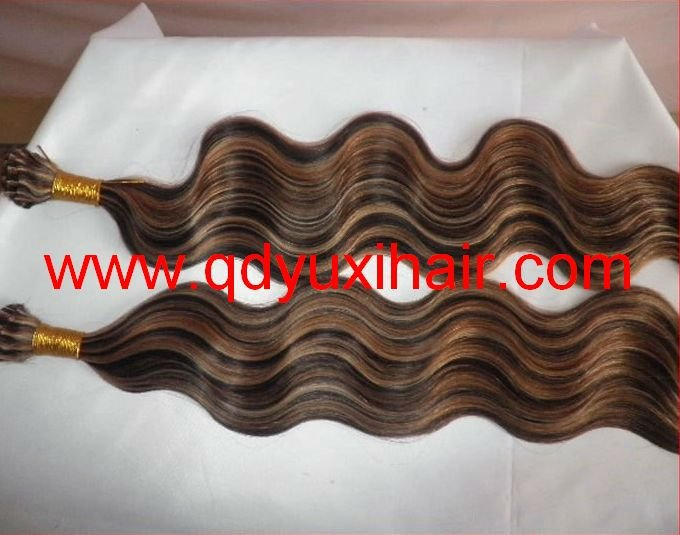 Factory Cheap Quality Human Bulk Hair Piano Color