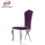 wholesale new design modern stainless steel chair for dining hall