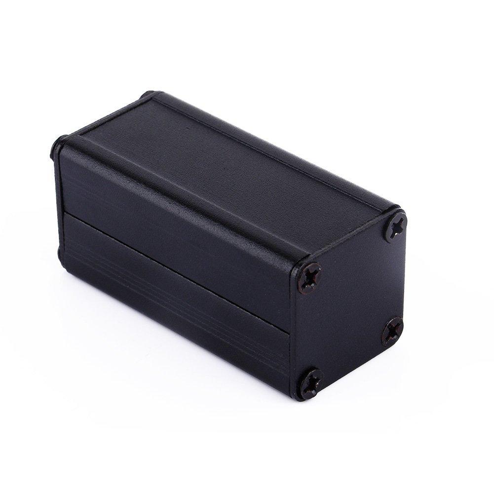Black Extruded Aluminum Electronic Box Enclosure Project Case PCB DIY Box 197 098 098 LWH