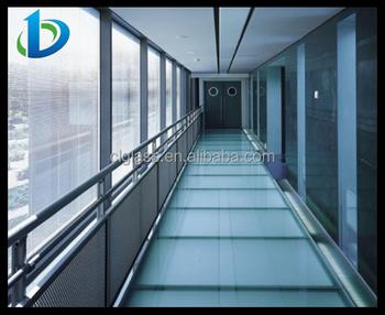 Ringhiere portico trasparente in vetro temperato ringhiera scala