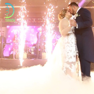 1-5 Meters High Sparks Outdoor Use Stage Cold Fireworks Fountain Machine for Wedding Sparklers