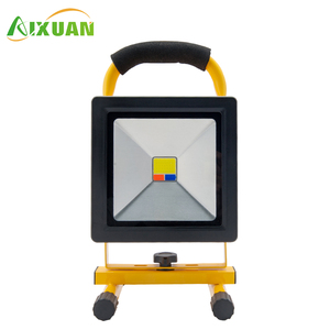 Rechargeable Portable Projector Lamp Slim Sensor Rgb Led Flood Light