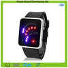 Silicone Quartz 29-Crystal Stone Silicone genneva LED Watch