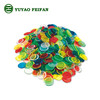 small Plastic colorful transparent bingo chips