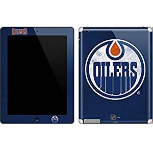 NHL Edmonton Oilers New iPad Skin - Edmonton Oilers Distressed Vinyl Decal Skin For Your New iPad
