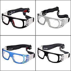 (Random Color) Basketball Soccer Football Sports Protective Elastic Goggles Eye Safety Glasses / Basketball Soccer Football Sports Protective Elastic Goggles Eye Safety Glasses . : When y