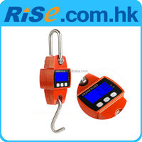 300kg/600lb Weight Digital Hanging Scale Mini Hook Scale Industrial Crane Scale
