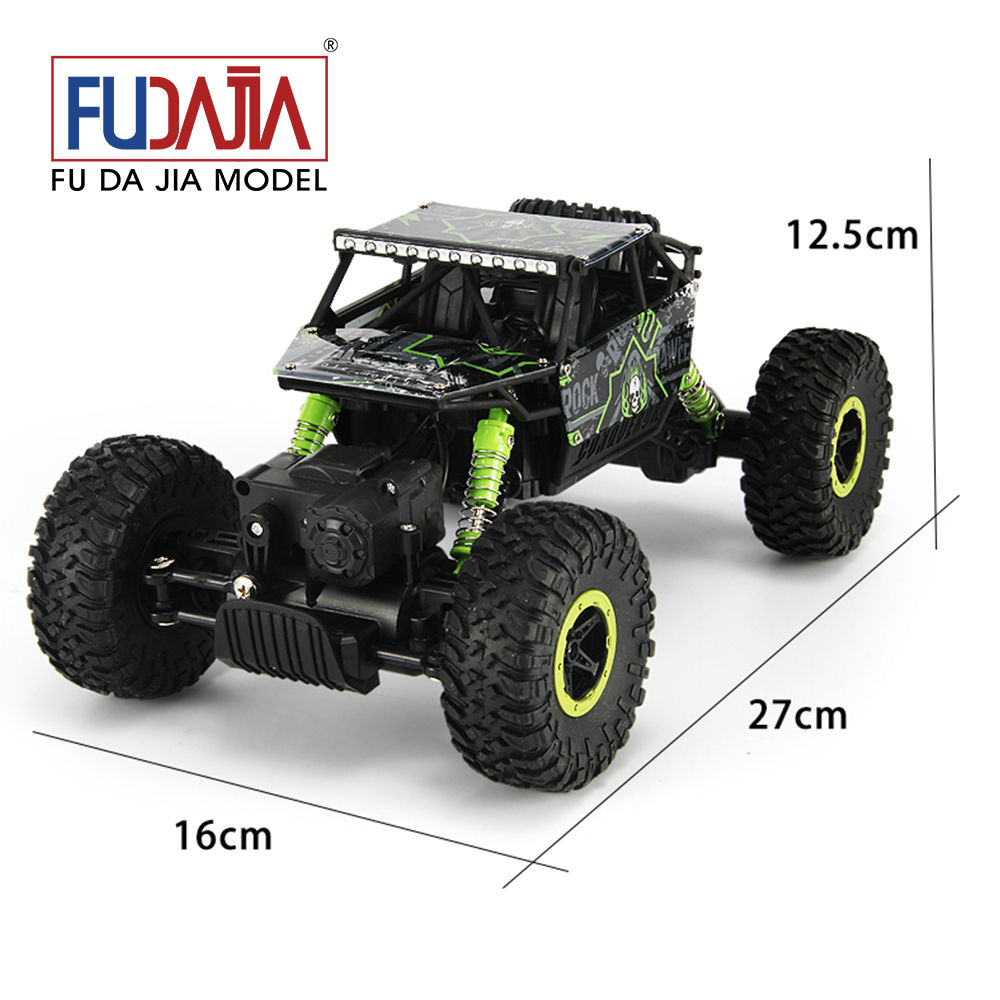 2016 newest 1:18 2.4GHz four-wheel-drive stunt climbing car of radio control hot kids toy
