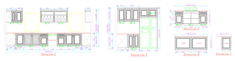 kitchen cabinet floor plan