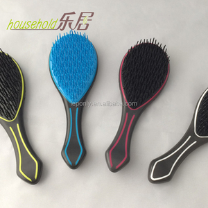 plastic hair combs high frequency hair comb perfect rubber match ABS Beauty comb