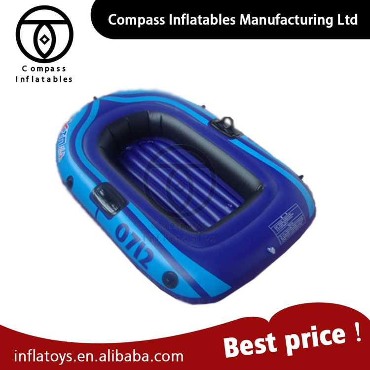 High Quality Durable PVC cheap plastic Inflatable fishing rowing Boat