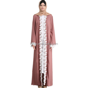 Manufacturer new model abaya in dubai abaya 2018 beautiful islamic kimono sleeve open abaya latest burqa designs pictures