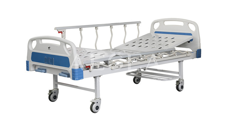 AG-BMS101A Shoe rack equipped manual paralysis nursing china bed medical patient specifications health bed