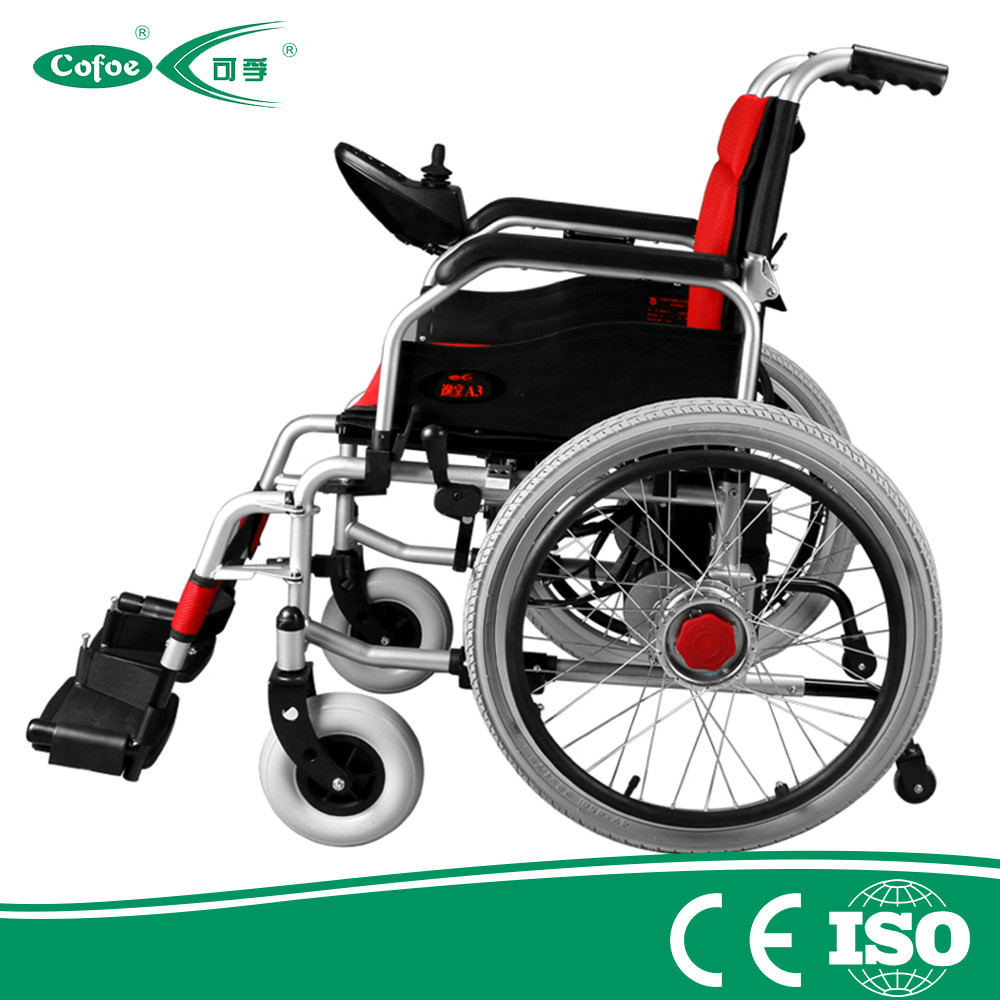 Good Wheelchair For The Old And Disabled Aluminum Electric Wheelchair
