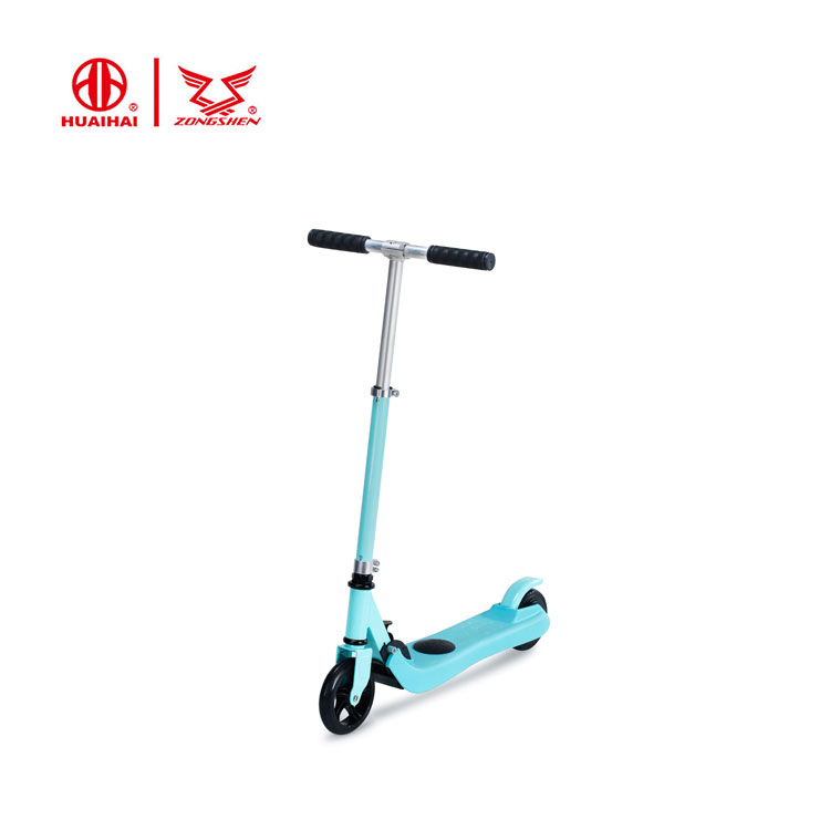 24' low speed <strong>folding</strong> e foot pedal kick scooter for kids