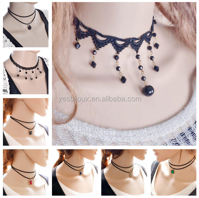 544c33ced1a49 China necklace fabric jewelry wholesale 🇨🇳 - Alibaba