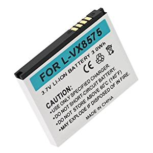 Lg Chocolate Touch VX8575 Replacement Li-Ion Cell Phone Battery (800 mAh)