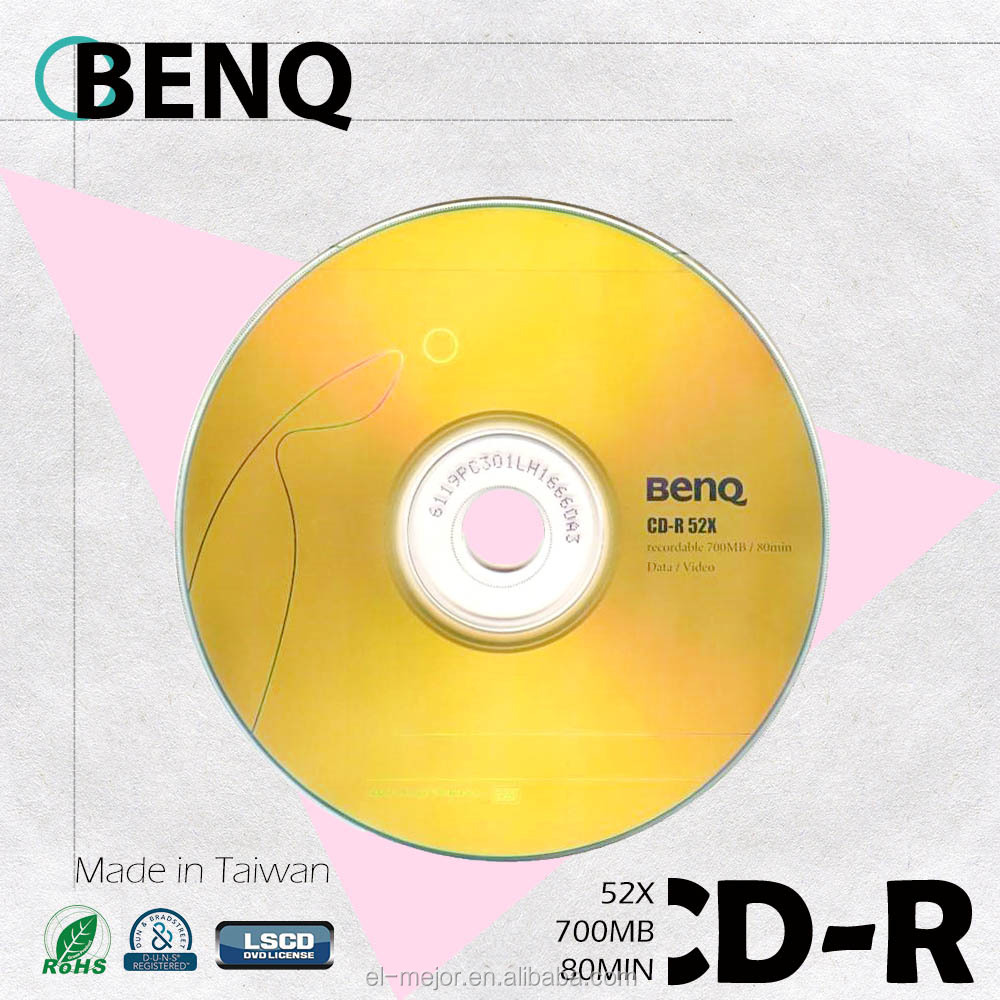 ben Q Blank cd high quality /made in Taiwan/free sample