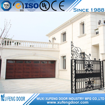 CE Certified Factory Price Elegant Steel Structure Garage Door