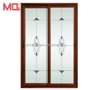 Grill decorative aluminum doors for house