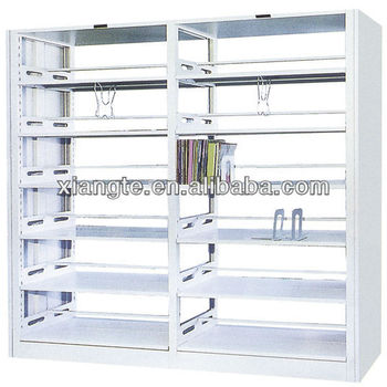 Steel Structure Book Shelf Design