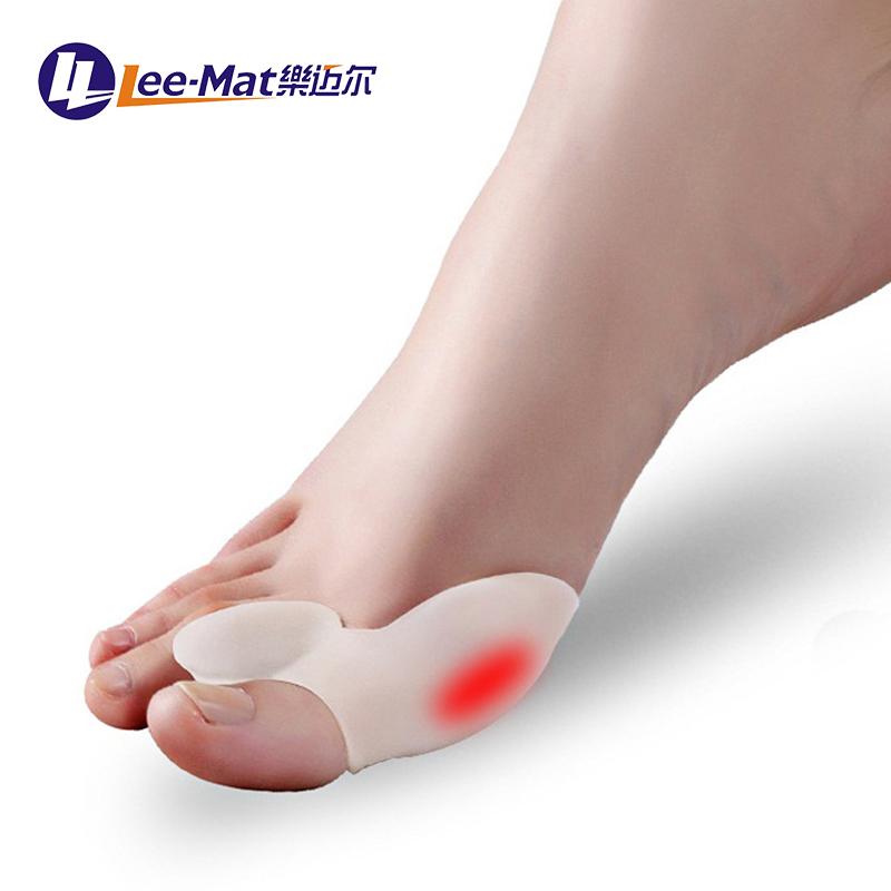 Kit de séparateur hallux valgus anti-douleur, gel de silicone médical pédicure orteil protecteur gel élastique bunion correcteur attelle