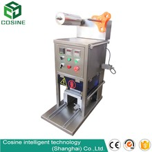 Automatic linear Vacuum cup sealer plastic cup sealer/sealing machine