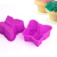 Butterfly Style Baking Supplies,Silicone Cake Mould Cookie Cup/Cookie Mold