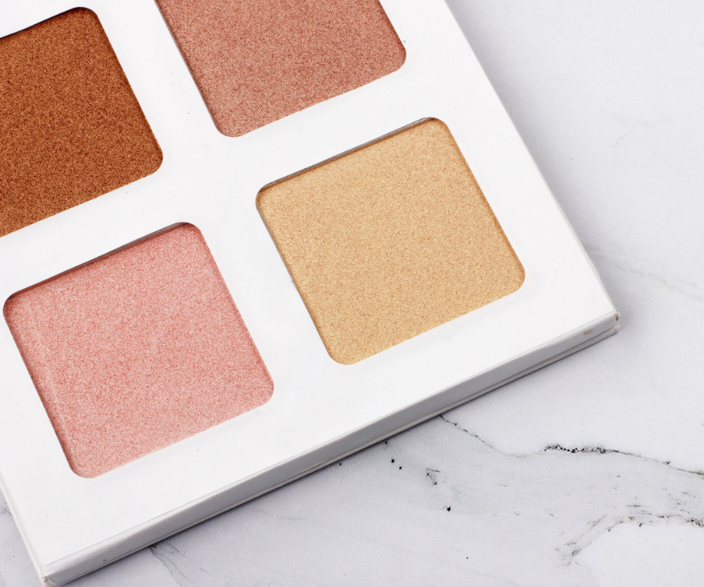 Wholesale Newest Highlighting Contour Palette Skin Lightening Face Wholesale Highlighter Makeup Private Label