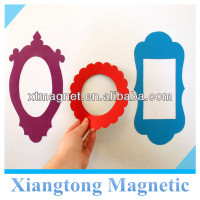 3 Magnetic Frames - Vintage Inspired Shape Magnetic Refrigerator Photo Frame /Fridge Magnetic Photo Frame