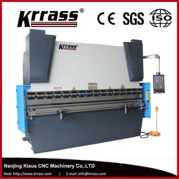 Metal Bending Machine >> Small Type 40t 2000 Metal Plate Press Brake Simple Back Gauge Single
