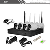 4CH 720P WiFi Plug&Play IP Camera Video Security NVR Kit Network Wireless Home System
