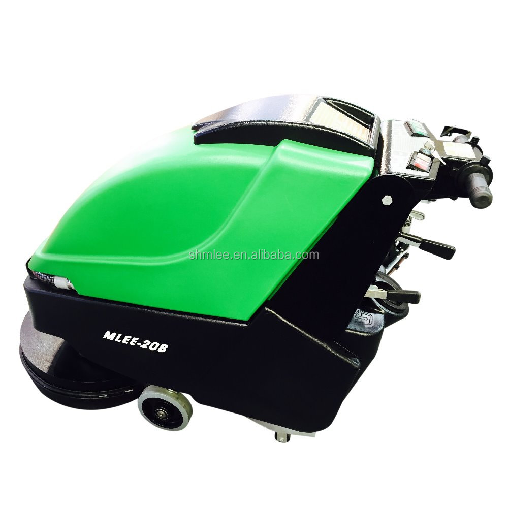 MLEE20B roots hotel factory school storeroom restaurant battery operated hand floor scrubber dryer