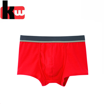 ca3a9257a559 Hot Sexy Pouch Red Boxer Panties Breathable Men's Briefs Design You Own  Underwear