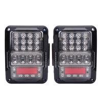LED Tail Lamp Replacement led taillight, LED Tail Light Kit for 07-17 Jeep Wrangler