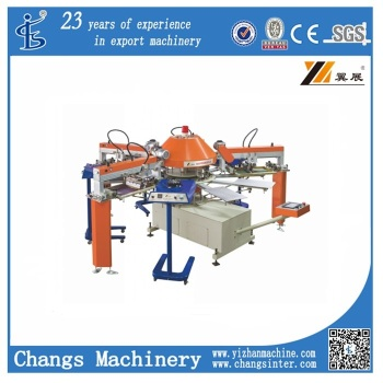Spg series automatic t shirt screen printing machine buy for T shirt screen printers for sale