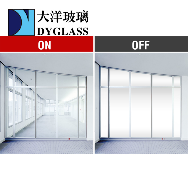 Switch Smart Glass For Shower Room Meeting Room