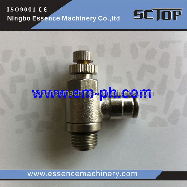 PLL5/32 -N02 INCH thread pneumatic fitting pneumatic fittings connector for powder coating machine PLL5/32 -N02 INCH thr