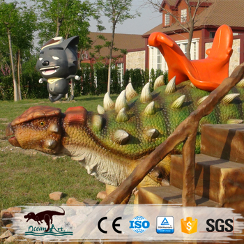 OA1678 Coin Operated Dinosaur Rides for Kids Playground Park