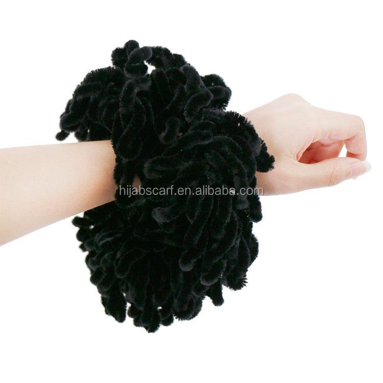 Beat-venda cachecol anel Atacado Preço de Fábrica moda Scrunchie Volumising Hijab
