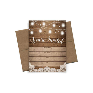 Prefect Party Invitation Card Wholesale Invitation Card