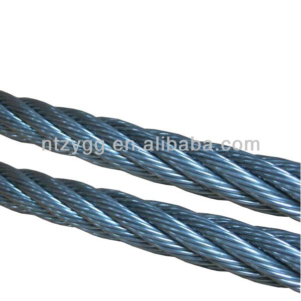 Cable For Suspension Bridge Steel Wire Rope 6x37s Iwrc 6x19 ...