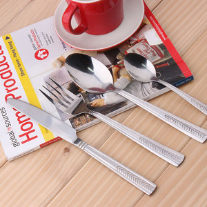 forks knives and spoons, German tableware, flatware set KX-S158