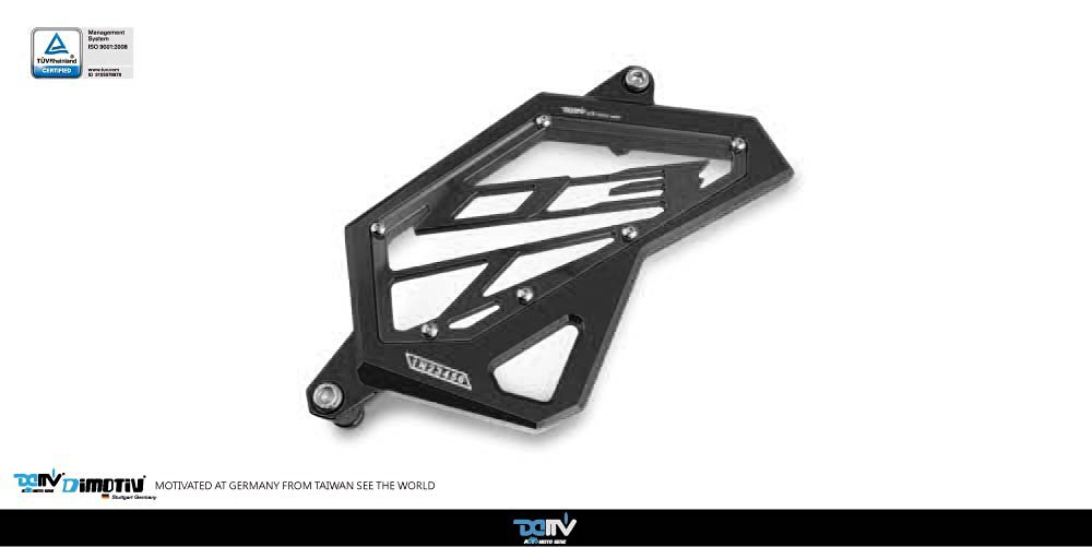 Dimotiv DMV Front Sprocket Cover for YAMAHA MT-03 2015-2016 (BLACK)