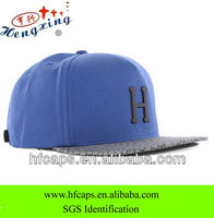 wholesale men fashion blank custom 5 panel snapback cap and hat