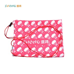Super soft polyester microfiber eyeglasses pouch for promotion