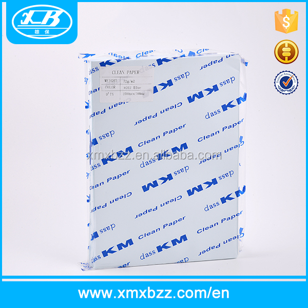 Wholesale 100% wood pulp a4 size white printing paper