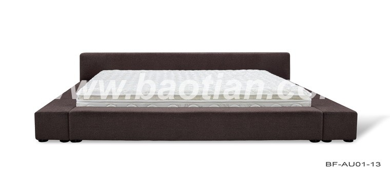 hand made french Italian Top-Grain Leather Bed King,Suiying BED,Bedroom Furniture
