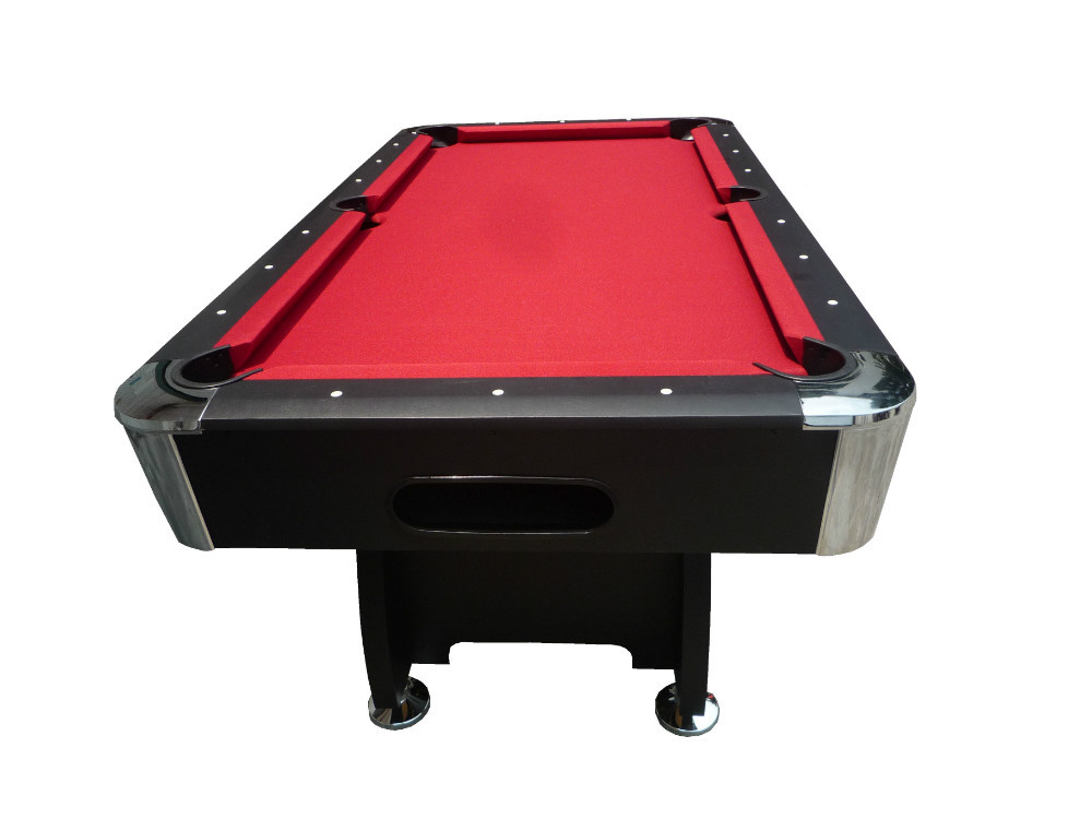 Red Carpet Billiard Table With Automatic Ball Return System,7 Feet Home Use Pool  Table Include Accesosry,Hot Selling Tables Pool   Buy Billiard Tables For  ...